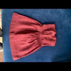 Magenta spandex scalloped mini dress bloomingdales
